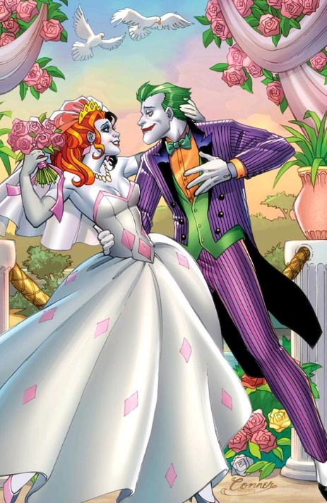 comics de harley quinn y el joker
