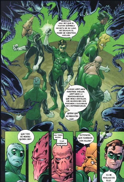 comics lanterna verde completo