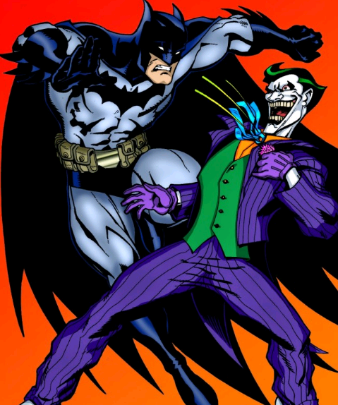 comic de batman vs guason