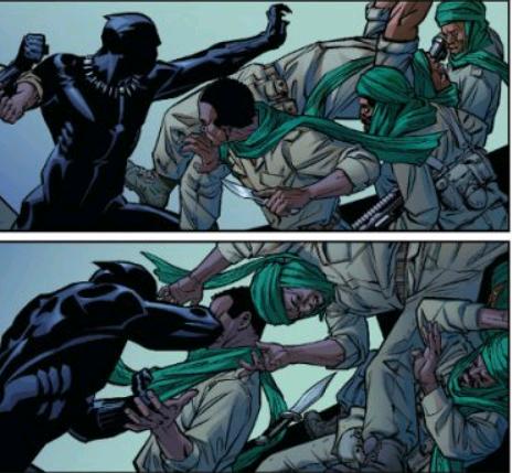 descargar comics de pantera negra