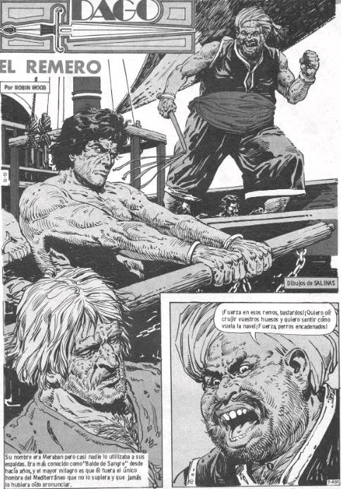 historietas de dago esclavo