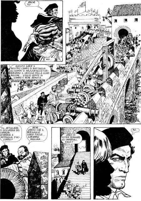 dago personaje de historieta