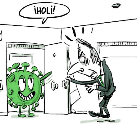 historietas del coronavirus para dibujar