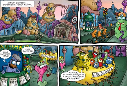 historietas de biologia dibujos