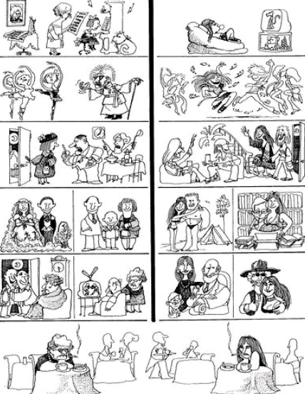 historieta quino vidas paralelas